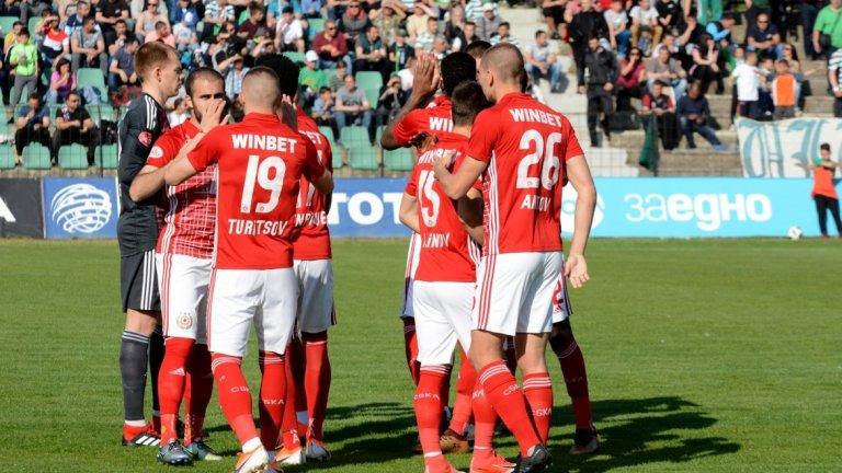 ЦСКА е само на три точки от Лудогорец