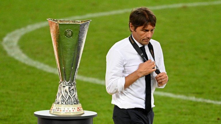 Конте: Благодаря на ръководството, че бях треньор на Интер