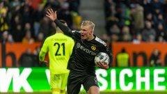 Хааланд дебютира с хеттрик за Дортмунд.