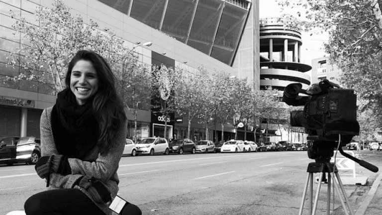 Именно покрай работата си Лусия се е срещнала с Чичарито, който тогава играеше в Реал Мадрид под наем от Манчестър Юнайтед