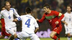 Роналдо не приличаше на себе си в Зеница
