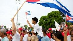 Кубинците все още манифестират