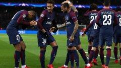 Нападателите на ПСЖ си правеха каквото искат срещу Дижон и вкараха 8 гола