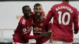 Ефектни последни минути върнаха Юнайтед към победите