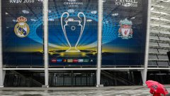 Олимпийският стадион в Киев вече е готов за големия мач на 26 май
