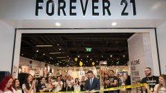 Любимата на милиони тийнейджъри по света марка за облекло Forever 21 отвори втори магазин в София