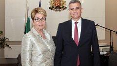 С посланик Елеонора Митрофанова са били акцентирани традиционно добрите връзки на България с Русия