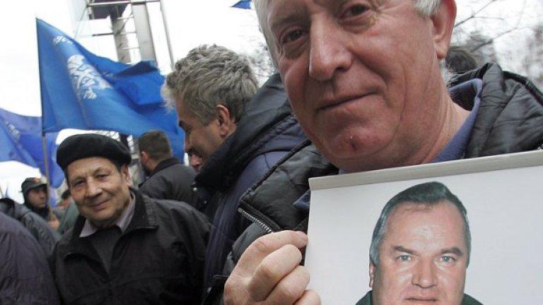 16 години след края на войната в Босна бе арестуван един от най-големите й престъпници Ратко Младич