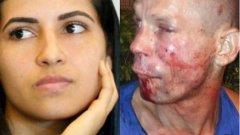 Вляво - Поляна Виана. Вдясно - крадецът.