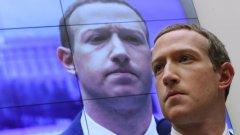 Търговската комисия на САЩ и 46 щата искат Instagram и WhatsApp да бъдат отцепени от компанията на Марк Зукърбърг (на снимката).