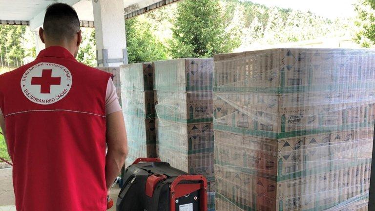 Domestos дари 10 000 дезинфекциращи продукта на Българския червен кръст.
