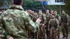 """Военни учения на американски и български сухопътни военни части се провеждат на учебния полигон """"Ново село"""" край Сливен"""
