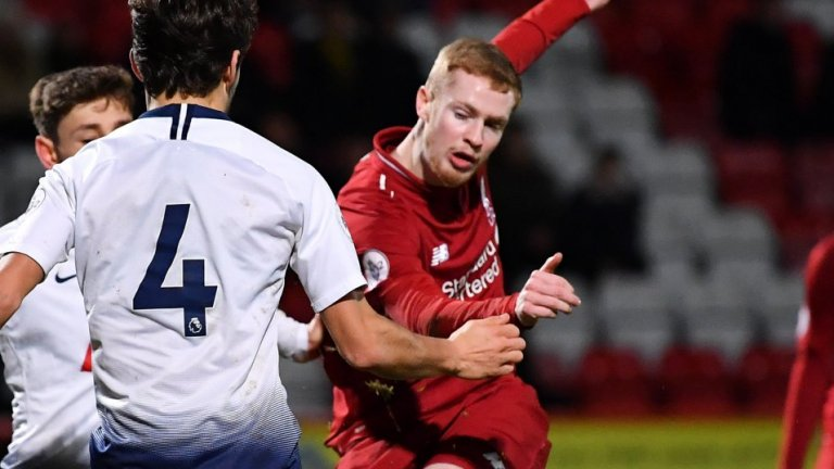 Невиждана драма: Юноша на Ливърпул вкара от центъра и дебютира с хеттрик в мач с 8 гола (видео)