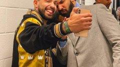 Агуеро си пусна снимка с Дрейк и няколко дни по-късно пропусна дузпа.