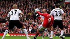 Фантастичните изяви на Димитър Бербатов и трите му гола донесоха успеха на Манчестър Юнайтед срещу Ливърпул