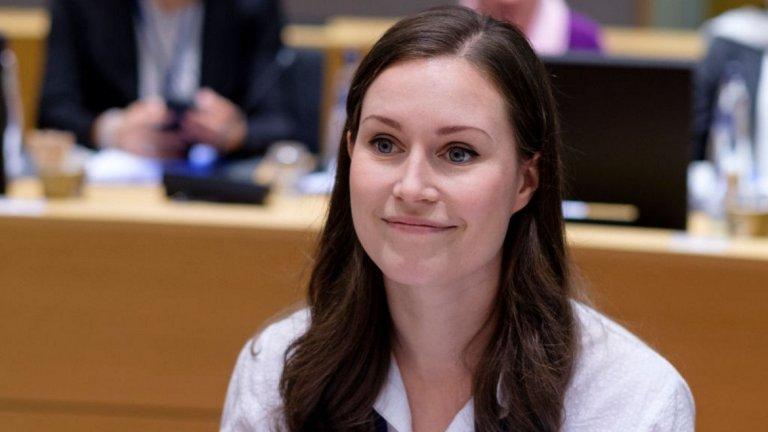 Докато е по майчинство, тя е заместник-председател на Социалдемократическата партия и си позволява да пропусне служебните си задължения единствено през пролетта, преди безпроблемно да се завърне към политиката.