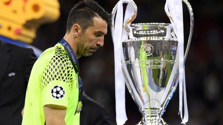 Буфон добави, че не е обсебен от идеята да печели Шампионската лига.