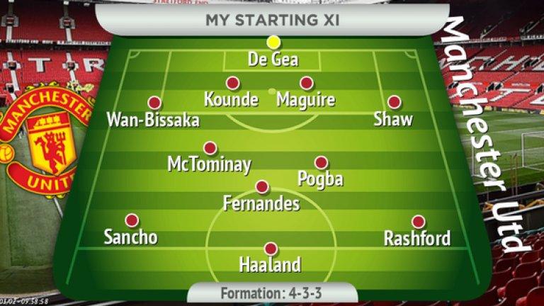 Как може да изглежда Юнайтед през следващия сезон, ако се сбъдне мечтаният сценарий