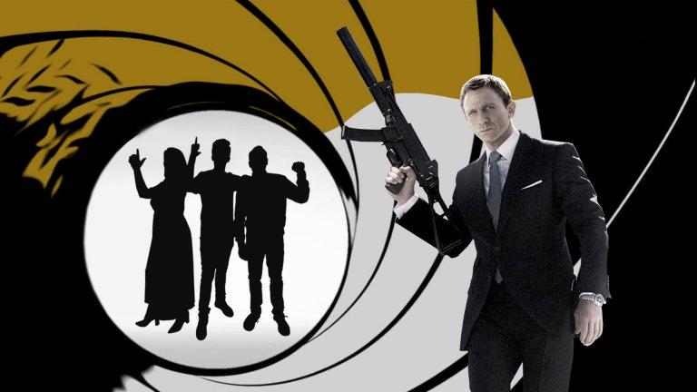 """Подкастът """"Тихо, филмът започва"""" този път е посветен на агент 007"""