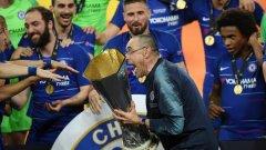 Лига Европа е първият трофей в кариерата на Маурицио Сари