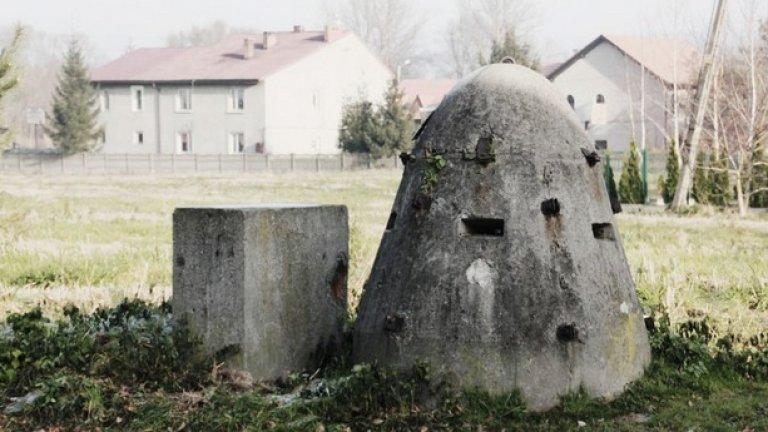 Бункер за служителите в случай на бомбено нападение