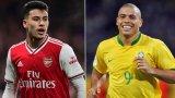 Роналдиньо засипа с похвали таланта на Арсенал
