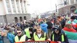 """Стигна се до блокиране на движението по бул. """"Цар Освободител"""" в София"""