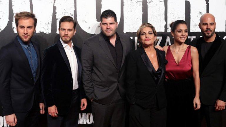 Основните италиански герои от сериала