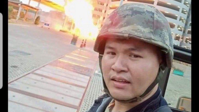 Предполага се, че мъжът (на снимката) е взел заложници.