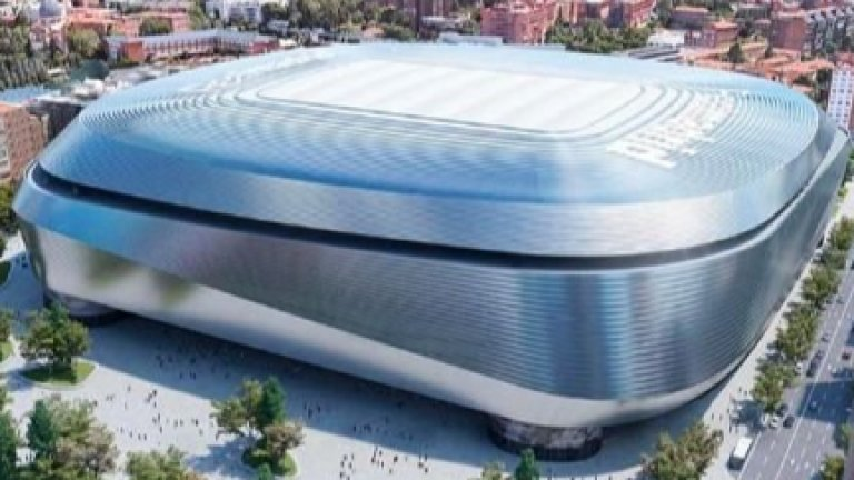 """Реал показа зашеметяващия """"Бернабеу"""" на бъдещето (видео)"""