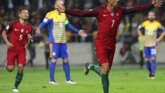 Кристиано Роналдо изпревари Златан Ибрахимович във вечната ранглиста на европейските голмайстори