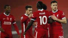 Ливърпул играе и двата си мача от 1/8-финалите на ШЛ в Англия?