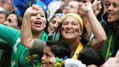 Бразилците ликуват - този път заради Световното по футбол...