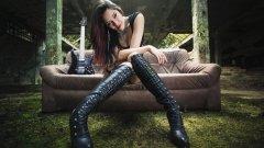 Джен от Evanescence: За музиката, вътрешния мир и... Чък Норис