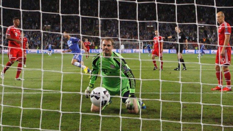 В края на август Байерн игра с друг английски отбор - Челси, на финала за Суперкупата на Европа.