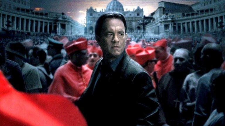 """Естетиката на Ватикана е сред малкото приятни неща и в трилъра """"Ангели и демони"""" с Том Ханкс."""