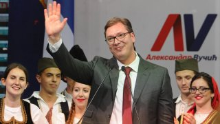 5 пъти, когато сръбските медии алармират за мними заговори срещу сръбския лидер