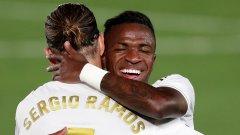 Реал отново оглави класирането в Испания