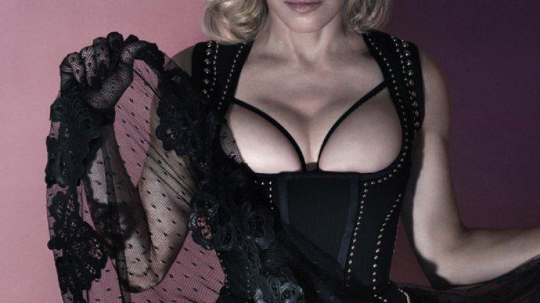 Тази фотосесия Мадона засне в края на миналата година. Не е тайна, че тя е на 56 години