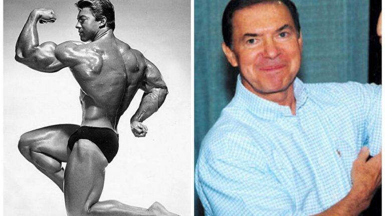"""1. Лари Скот. """"Мистър Олимпия"""" 1965 и 1966 се печелят от Лари Скот, който е първият културист с обиколка на ръката над 20 инча (50 см). Умира на 8 март 2014 г."""