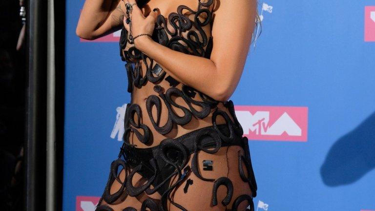 Рита Ора на MTV Video Music Awards 2018.