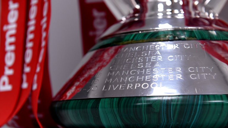 Най-накрая името на Ливърпул бе изписано върху трофея от Висшата лига