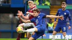 Замразен от Лампард блесна при първата победа на Челси при Тухел