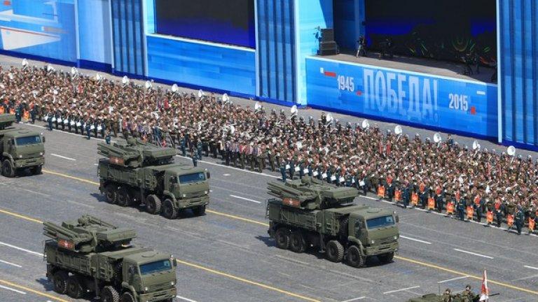 Новата бойна техника е акцентът на военния парад