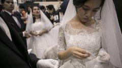 """Големият проблем на Южна Корея с """"вносните булки"""" от чужбина"""
