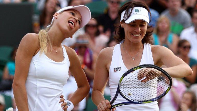 """Те бяха """"Спайс Гърлс на тениса"""" - едната по-добра, а другата по-красива, но веднъж щяха да се избият за една точка"""