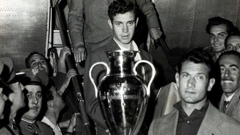 Реал (Мадрид) защитава титлата си година по-късно, след като побеждава Милан с 3:2 след продължения.