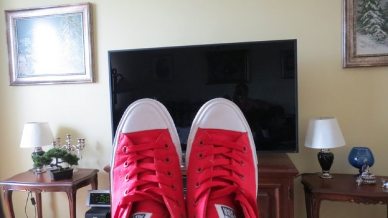 Може да си гледате телевизия с тях. С новата технология Lunarlon All Star II не отстъпват по удобство на домашните ви чехли
