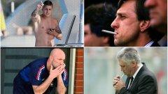Марко Верати отново бе хванат с цигара. Ето и още няколко подобни примера през годините...