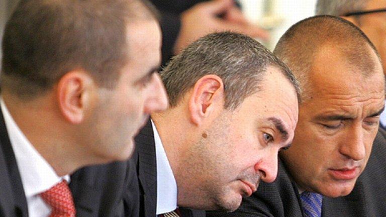 """""""Недосегаемите 2010"""" - нов екшън с участието на Цветан Цветанов, вътрешен министър, Борис Велчев, главен прокурор и Бойко Борисов, министър-председател. Ще преборят ли те престъпността? Очаквайте по екраните през 2010-та!"""